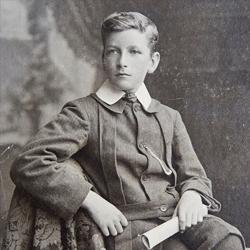 Robert Menzies as a boy