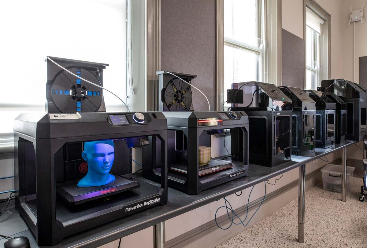 3D printing technology in Visual Arts and Design precinct