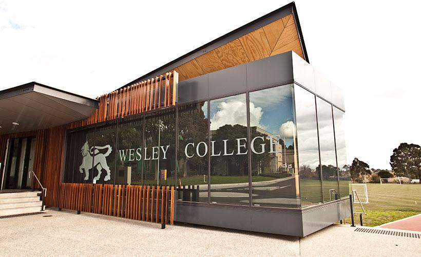Coates Pavilion Wesley College
