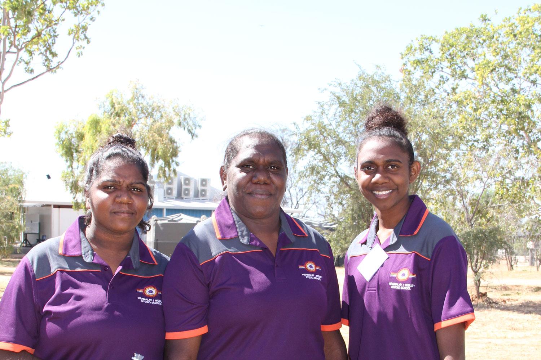 Three staff members from the Yiramalay/Wesley Studio School