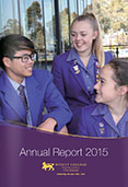 Wesley College Annual Report 2015