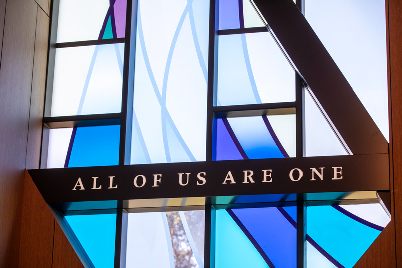 Drennen Centre Chapel Dedication
