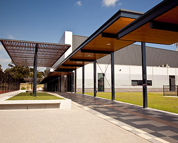 The new College Sports Centre at Glen Waverley