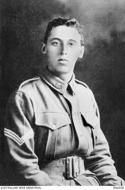 Sergeant Geoffrey Ernest Jones