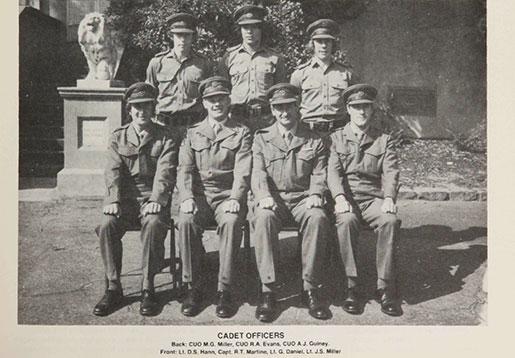 Cadets Wesley College 1975